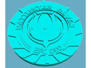 Battlestar Raven Medallion