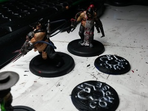 Malifaux Miniatures Game Corpse Marker 30mm