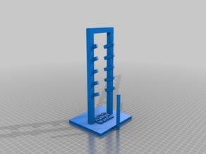 Salmon Ladder from American Ninja Warrior (with bar)