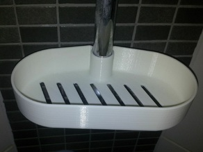 Shower tray for 22mm bar