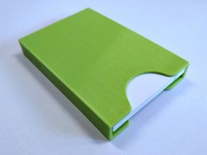 Business card case with invisible clamp - various sizes