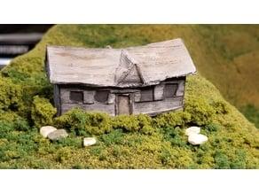 Abandoned House (N-Scale)