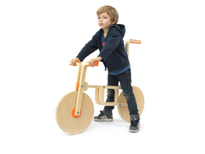 Draisienne bike (IKEA hack collection) by Andreas Bhend and Samuel N. Bernier