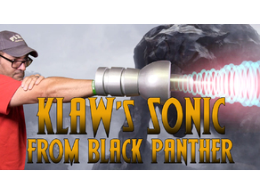 KLAW Sonic Weapon from Black Panther