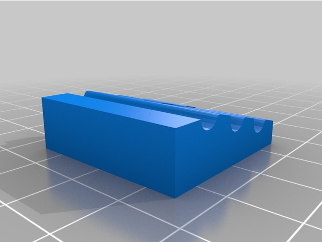 Low profile step block clamps for CNC -Small by qbox - Thingiverse