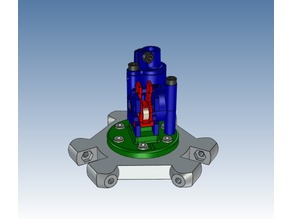 Kossel mount base for the Nimble V1