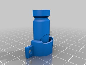 Failed attempt at minimal E3D mount