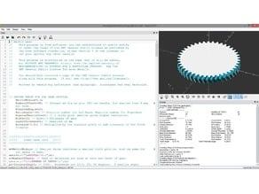 Parametric Herringbone Script for OpenSCAD