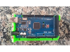 Arduino Mega 2560 / RAMPS Holder with Quick Release
