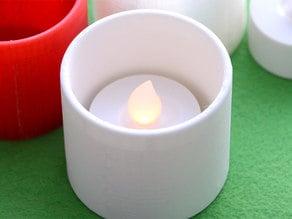 Candle holder - IKEA LED Lamp