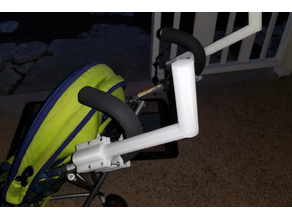 Umbrella Stroller Handle Extension