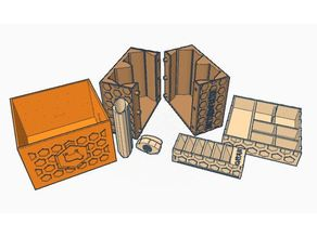 storage settler of catan (interlocking tiles)