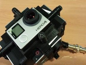 360 video gopro rig
