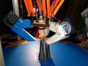 Deltaprintr Blower Cooling Shroud