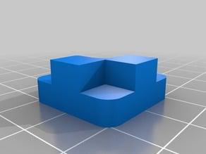 LulzBot TAZ 6 Modular Print Bed Corner Mounts