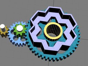 PowerWheels gearbox.