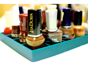 Very Basic Nail Polish and Lipstick Holders