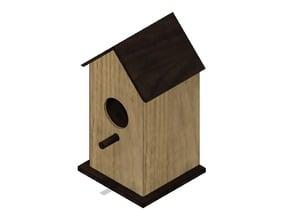Bird House Outdoor Transformer Housing Box