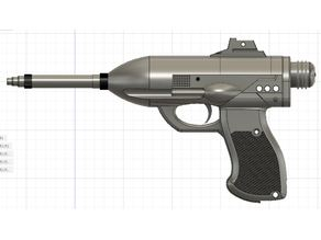 Canto Bight Police Officer Relby K-25 Blaster