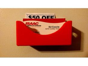 Card Holder Fridge Magnet