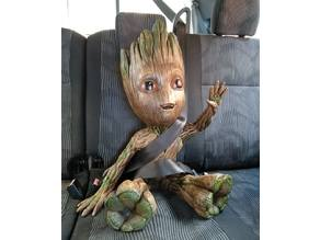 Giant Waving Happy Baby Groot