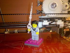Infinity Blade Lego Sword