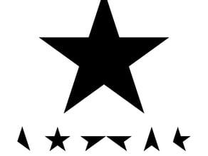 Blackstar Album Artwork Elements