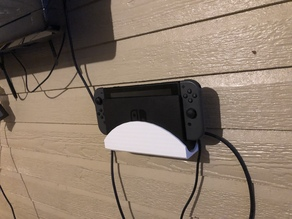 Wall mount for Nintendo Switch Dock
