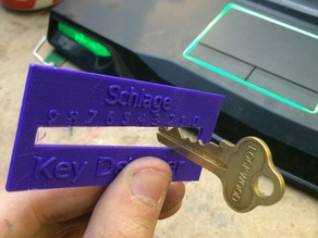 Key Decoder (For duplicating house keys)