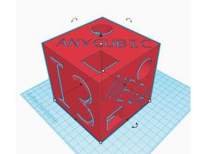 Anycubic i3 Mega Testcube