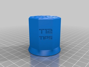 T12 Soldering Iron Tips Stand