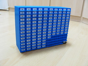 Ladenkommode für Widerstände - Resistor Box