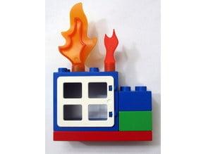 LEGO Duplo Style Mini Fire