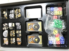 Dice City Token Trays
