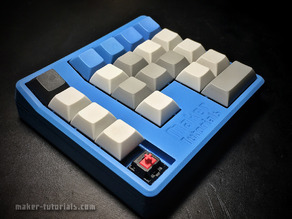 Mechanical Gamepad/Macro Pad for Cherry MX or Gateron Switches