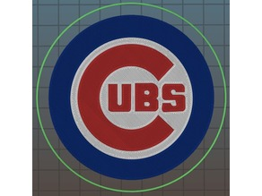 Cubs Coaster Multicolor