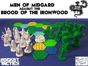 Pocket-Tactics: Men of Midgard against the Brood of the Ironwood (Second Edition)