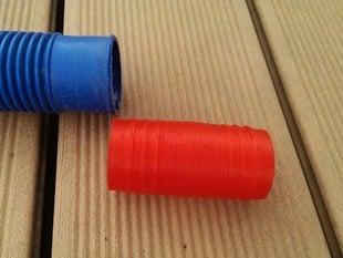 Customizable Hose Adapter (pool hose, garden hose)
