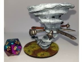Air Elemental for 28mm Tabletop Gaming