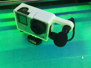 GoPro 4 Housing with External Microphone