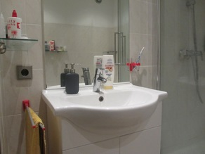 Double Swivelling Towel Bar for the bathroom