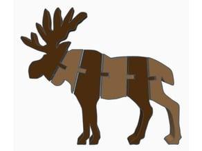 Flexi Moose (Dual Extrusion)