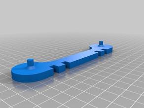 [Remix] Simple Filament Spool for F605 Bearings
