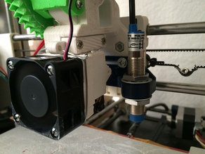 Z Probe Mount for  i3 Rework Extruder
