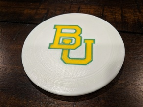 Multicolor Baylor Disc Golf Marker Disc
