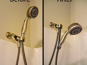 Shower Head Extender