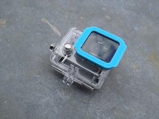 Lens Cap & DIY Filter Cap for GoPro HERO 3 Waterproof Case