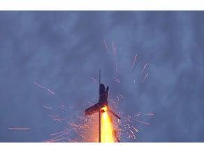 Fully functional model rocket