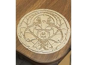 Emblem of Torna (coaster) // Xenoblade Chronicles 2 // Nintendo Switch