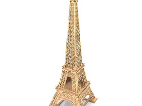 eiffet tower lasercut